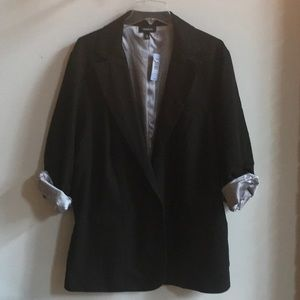 TORRID Ruched Roll Sleeve Blazer NWT Size 4X/26-28